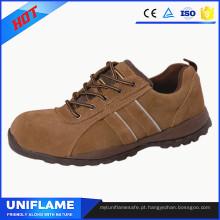 Sapatos de segurança luz executiva, sapatos de trabalho Ufa091