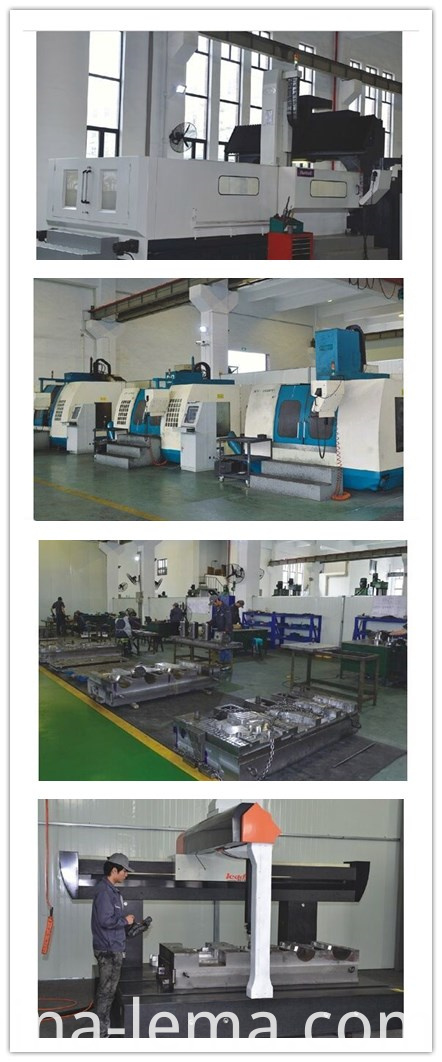 Aluminum low pressure casting mould production