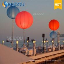 Grandes globos LED de iluminación de publicidad inflable Tripod Stand Globo