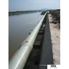 Tubo de areia composto para abastecimento de água