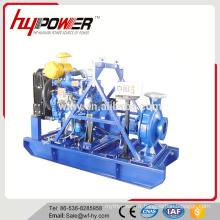 Ensemble de pompe à eau diesel d'irrigation alimenté par HF495G