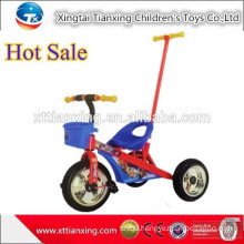High Quality Three Wheel Bike Toy , Kid Tricycle Car With Push Bar