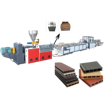 WPC Decking Floor Extrusion Line