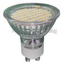 Светодиодная лампа GU10 / MR16 / E27 / E14 TUV / CE / RoHS (60SMD 3528 со стеклянной крышкой)