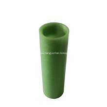 Smooth screw thread insulator glass cloth fiberglass tube