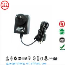 SAA CCC ROHS UL AC DC power adapter 18w