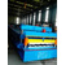 Corrugado / Trapezoidal galvanizado Paneles de techo Rolls formando la máquina con buen precio
