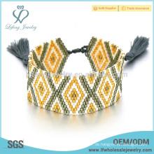 Diy böhmischen Stil Schmuck, Samen Perlenmuster Armband