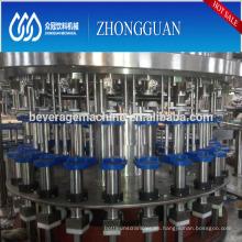 Máquina de rellenar del embotellamiento de la cerveza oscura de la botella de cristal 3in1