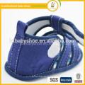 2015 exclusif nouveau mode design artisanal fantaisie promotions denim sandales bébé pour garçon