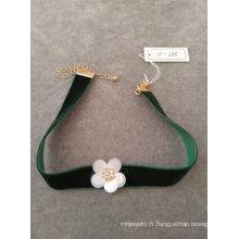 Collier Tour de cou de mode fleur