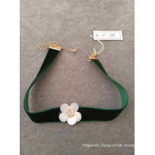 Fashion Flower Choker Necklace