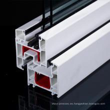 Perfil de PVC serie 60 mm para ventanas uPVC