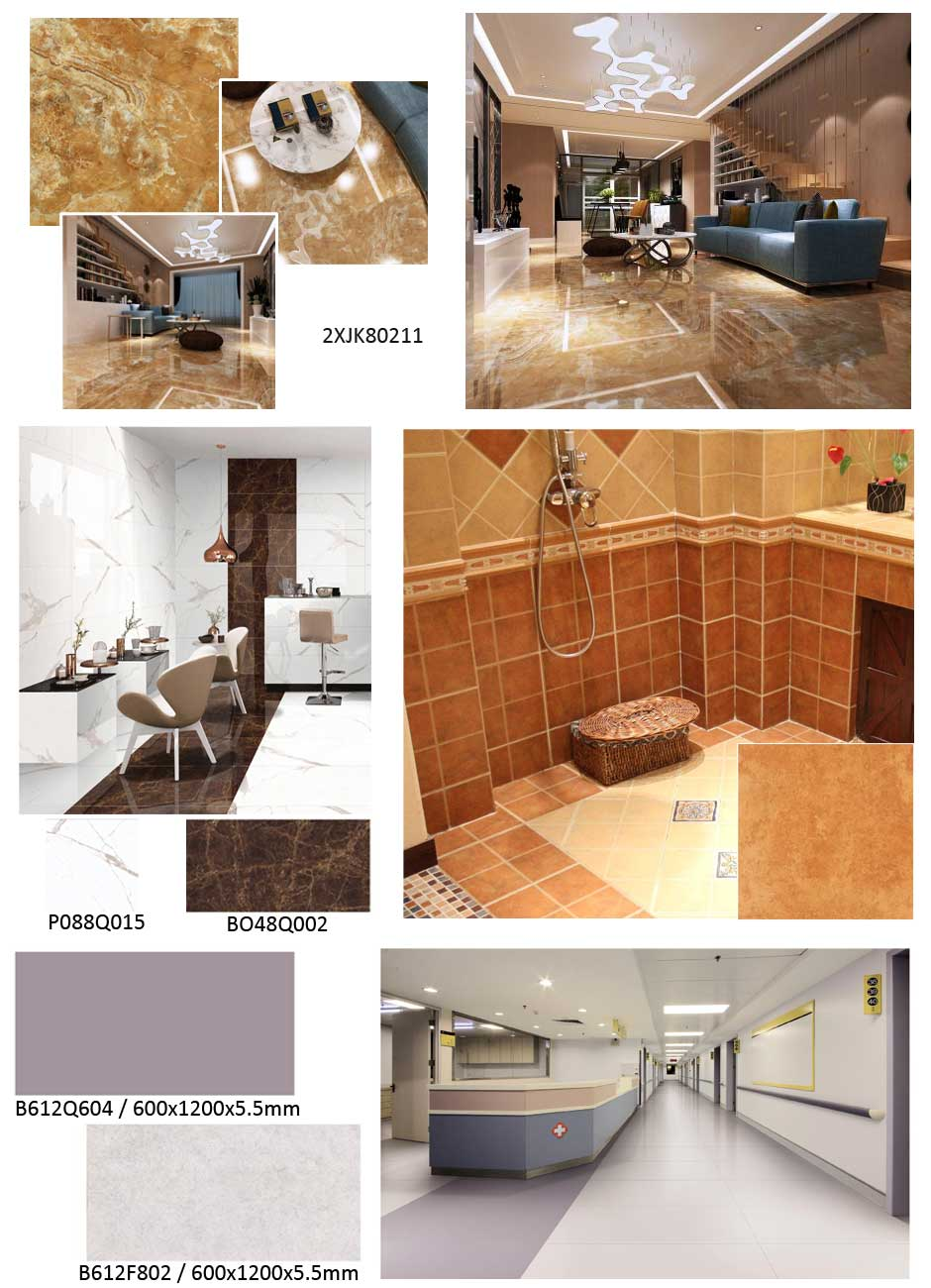 polished porcelain floor tile lowes
