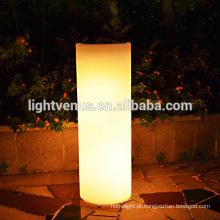 pote de flor do LED do mudança de cor de 16 de rechargeabale nova 2015/rodada plantador de forma