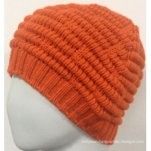 Girls Knit Beanie Cap Warm Beanie Hat You Like (KB-080003)