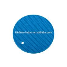 De alta calidad material de grado alimentario Resistente al calor de silicona redonda titular de la olla