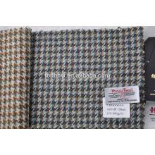 bespoke protected brand harris tweed fabric in houndstooth design