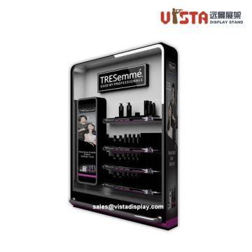 High+Quality+Luxury+Cosmetics+Slat-wall+Display+Stands