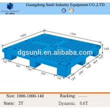 light capacity storage plastic pallet