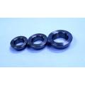 Angular contact ball bearing ring