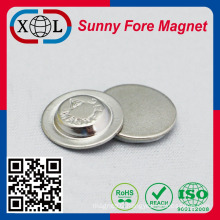 Cloth button magnet China factory