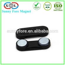 Name-Abzeichen-Magnet mit Kunststoff verdeckt