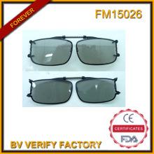 FM15026 Polarised Lens Spring Clip on Glasses Flip up Glasses