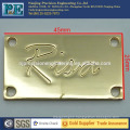 Custom high precision brass engraving plates
