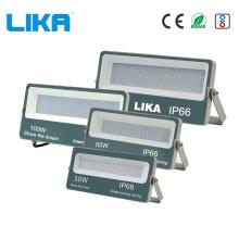 100W morre projetor exterior do diodo emissor de luz do alumínio de carcaça