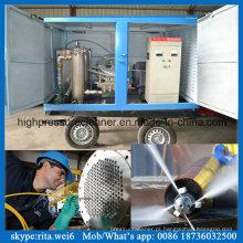 China Fabricante Industrial Máquina de Lavar Tubulação De Limpeza De Alta Pressão Mais Limpo