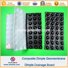Geomembrana de Dimple HDPE para Represa