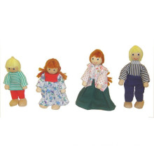 Mini Wooden Dolls Spielzeug für Kinder