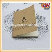 Caderno de papel pequeno, bloco de notas de papel kraft, novos produtos no mercado da China