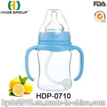 Portable BPA Free 150ml Plastic Baby Feeding Bottle (HDP-0710)