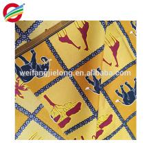 Calidad y fiabilidad cera africana imprime imitación de tela