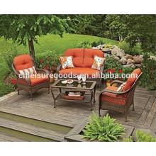 Outdoor garden wicker rattan furniture