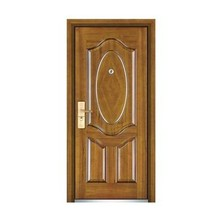 Popular Steel Wooden Door