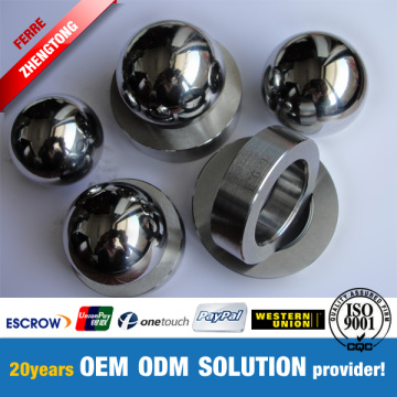 Precisie Onderdelen Tungsten Carbide Bearing Balls In Blank