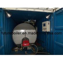 Caldeira a vapor tipo recipiente