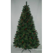 Realist Artificial Christmas Tree with String light Multi Color LED Decoration Berry (AT2115)