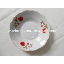Cerâmica, sopa, prato, porcelana, sopa, prato, flor, padrão
