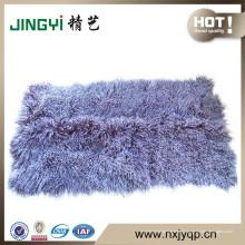 Plaque de fourrure d'agneau mongol tibétain extrêmement doux en gros