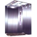 Coche de ascensor de pasajeros, ascensor decoración 450kg clasificada carga QK1001