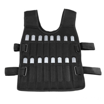 Functional Training Adjustable 10kg/20kg/30kg  Loading Weighted Vest Training Plate