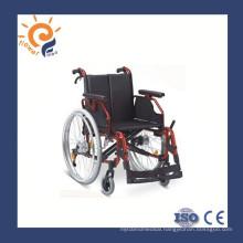 Disabled aluminum lightweight wheelchair
