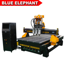 Jinan Blue Elephant 1325 CNC Woodworking Machine, Wood CNC Router 3D for Door Making