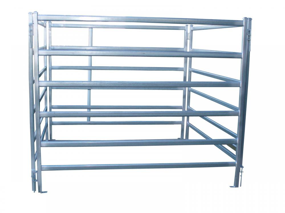 Steel Corral Fence