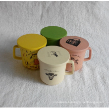 (BC-C1031) Natural Bamboo Fiber Tableware Cup/Mug with Print