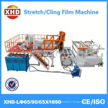 pe stretch cling film making machine